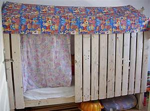Construire Un Lit Cabane : fabriquer soi m me un lit cabane ou fabrication maison dodomobile lit cabane camion de ~ Melissatoandfro.com Idées de Décoration