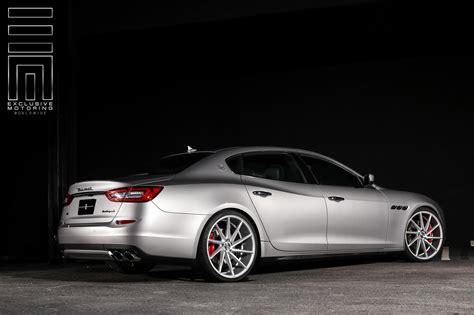 maserati vossen gray metallic maserati quattroporte s q4 shows off custom