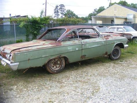 Find Used 1962 Chevy Belair Bubbletop Bubble Top Rare L@@k