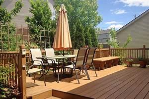 Mobilier De Terrasse : mobilier de jardin quoi de neuf sous le soleil id terrasse bois ~ Teatrodelosmanantiales.com Idées de Décoration