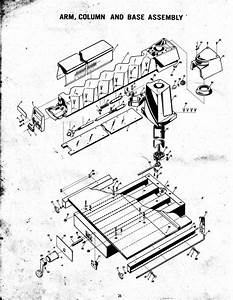 Montgomery Wards Radial Arm Saw