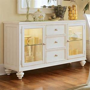 American drew camden china buffet credenza in buttermilk for Küchenbuffets