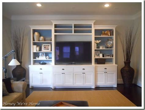 Second Living Room Cabinets by Media Center Shelf Unit For Wall In Family Room I