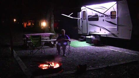 Once you arrive at the park you'll pay the entrance fee and will receive a park map. Enjoying the campfire at Fort Mountain State Park ...
