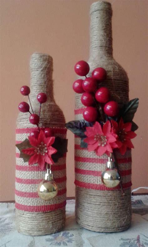 botellas decoradas cosas chris