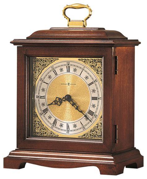 howard miller desk clock howard miller dual chime vintage mantel clock graham