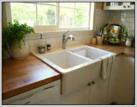 Top Mount Farmhouse Sink With Drainboard top mount farmhouse sink home design ideas