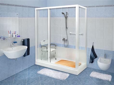 accessori vasca da bagno per anziani terzaet trasformazione vasca in doccia per la