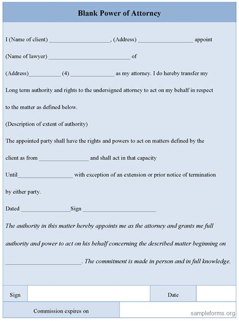 power of attorney form uk free sle power of attorney form uk pdf project management