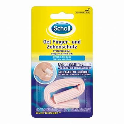 Scholl Gel Finger Zehenschutz Protection Orteils Zuschneidbar