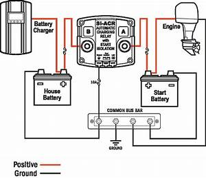 Cole Hersee Smart Battery Isolator Wiring Diagram