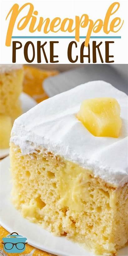 Cake Pineapple Recipes Poke Pudding Recipe Easy