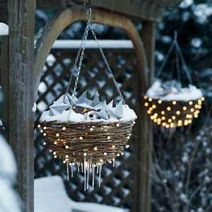 Weihnachtsbeleuchtung Für Draußen : garten beleuchtung weihnachten h nngend k rbe sterne ~ Michelbontemps.com Haus und Dekorationen