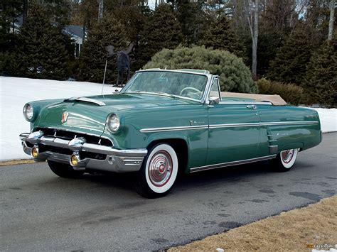 Mercury Monterey Convertible 1953 pictures (1280x960)