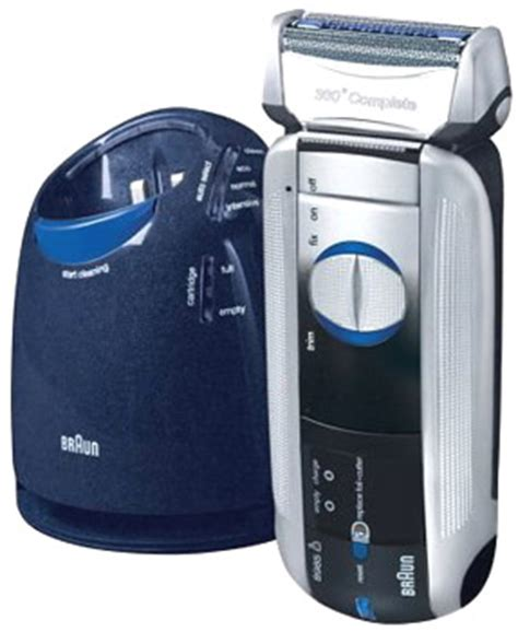 braun cleaning shaver