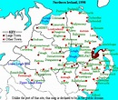 Images and Places, Pictures and Info: northern ireland map ...