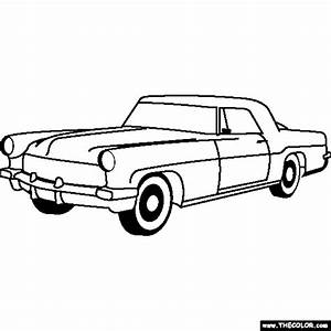newest coloring pages page 32 With lincoln flower car
