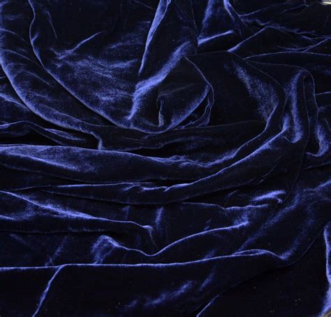 navy blue velvet navy blue silk velvet fabric fashion fabrics