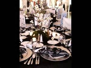 deco anniversaire noir et blanc f 234 te d anniversaire de la d 233 coration en noir et blanc
