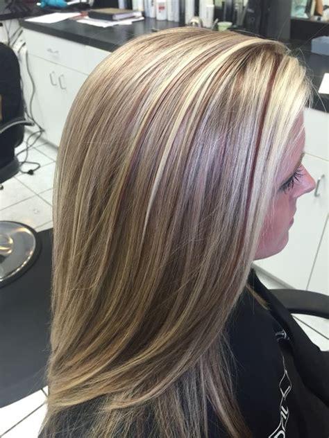 blonde hair flash lowlights platinum blonde  flash