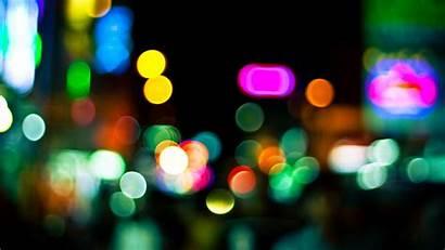 Colorful Circles Glare Background 4k 720p Hdv