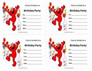 Blank Elmo Invitation Orderecigsjuice Info