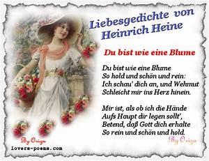 Liebe Ist Wie Eine Blume : liebesgedichte liebesgedichte von heinrich heine ~ Whattoseeinmadrid.com Haus und Dekorationen