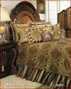 aico furniture pontevedra luxury bedding set ai pntvda olv transitional bedroom products