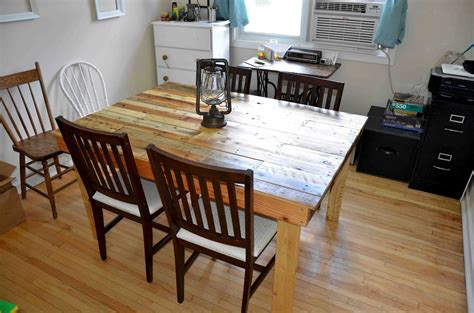 pallet dining room table natural and stylish pallet dining table ideas