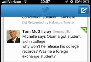"""Top GOP Official Suspects Obama was """"Foreign Exchange Student"""""""