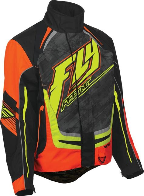 Racing Jacket by 58 60 Fly Racing Youth Boys Snx Pro Snowmobile Jacket 237818