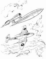 Meteor Colouring Jet Flying Bomb V1 Activity Air Colour Yorkshireairmuseum Attacking German Shows He sketch template