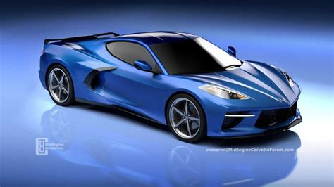 2020 Chevy Corvette Wallpaper by New Rendering Of The Mid Engined 2020 Chevy C8 Corvette