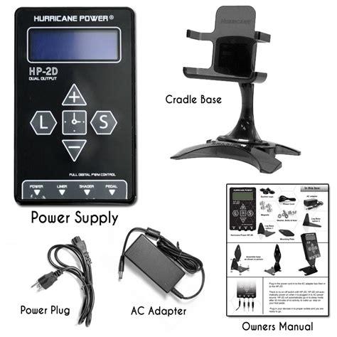 hurricane hp  dual digital lcd power supply