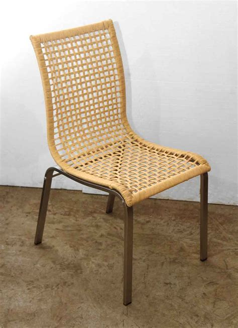 set   wicker dining chairs olde good