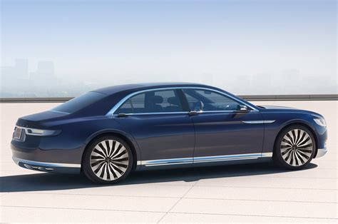 lincoln continental lincoln continental concept first look motor trend