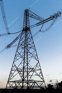 high-voltage power line — Stock Photo © Andreua #78139154