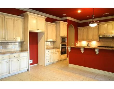 red kitchen walls with white cabinets red kitchen walls white cabinets home decor ideas and