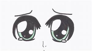 Sad Anime Eyes Drawing - shaun44 © 2018 - Aug 21, 2012