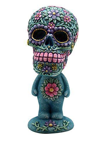 Sugar Skull Man Bobble Head   My Sugar Skulls