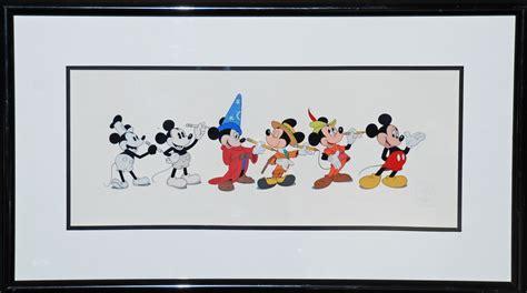 Original Walt Disney Sericel Featuring Mickey Mouse