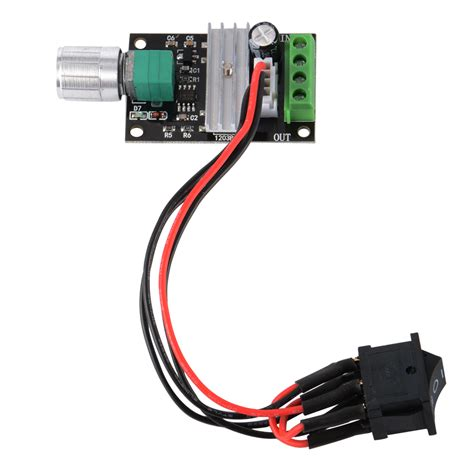 6 24v 3a dc motor speed controller adjustable reversible button switch dc6v 12v 24v 28v 3a pwm motor speed regulator reversible