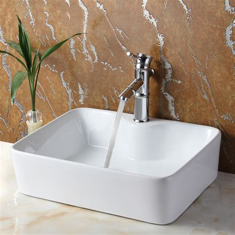 Rectangular Sinks Bathroom by Stylish And Diverse Vessel Bathroom Sinks