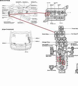 97 Toyotum Camry Fuse Box