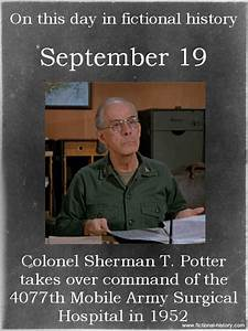 colonel potter ... Colonel Potter Quotes