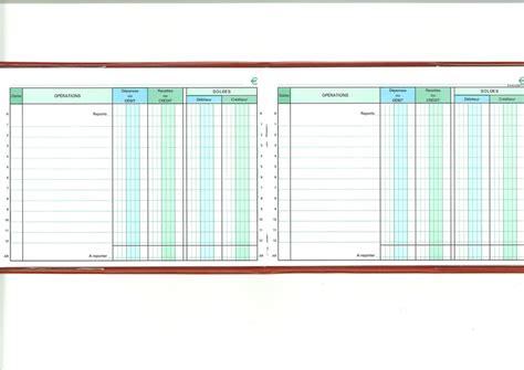 bureau douane carnet de position de compte 13501e papeterie gouchon