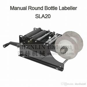 Compre Etiquetadora Manual De La Botella De Mano Del