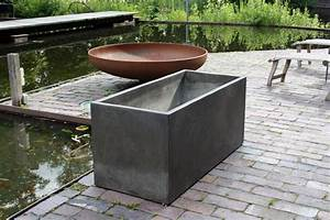 Pflanztröge Aus Beton : 4er set pflanzk bel pflanztrog aus beton maxi 100 terra ~ Sanjose-hotels-ca.com Haus und Dekorationen
