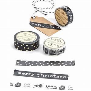Washi Tape Schwarz : deko klebeband in schwarz wei mit weihnachtsmotiv 100 christmas ~ Eleganceandgraceweddings.com Haus und Dekorationen