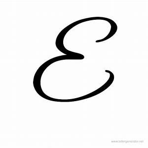 Pretty Cursive Letter E | www.pixshark.com - Images ...